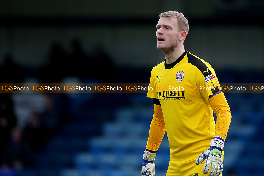 Barnsley goalkeeper, Adam Davies during Gillingham vs Barnsley, Sky Bet EFL League 1 Football at The Medway Priestfield Stadium on 9th February 2019