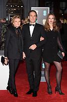 Alexandre Desplat arriving for the BAFTA Film Awards 2018 at the Royal Albert Hall, London, UK. <br /> 18 February  2018<br /> Picture: Steve Vas/Featureflash/SilverHub 0208 004 5359 sales@silverhubmedia.com