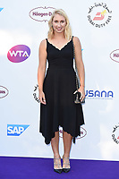 Elina Vesnina<br /> arriving for the Tennis on the Thames WTA event in Bernie Spain Gardens, South Bank, London<br /> <br /> ©Ash Knotek  D3412  28/06/2018