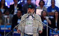 SAO PAULO, SP, 24 JUNHO 2012 - CONVENÇAO PSDB  Presidente do Partido Verde, Jose Pena durante convenção do PSDB para lancamento da candidatura do tucano José Serra no Ginásio Mauro Pinheiro (Ibirapuera) nesse domingo, 24. FOTO: VANESSA CARVALHO - BRAZIL PHOTO PRESS.