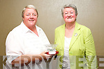Business awards at the Tralee Tidy Town awards at the Manor West hotel on Tuesday night front from left: Julianna Murphy and Anne O'Donnell, Coisceim Natural Therapy Centre