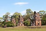 Suor Prat Towers 02 - Suor Prat Towers, Angkor Thom, Cambodia