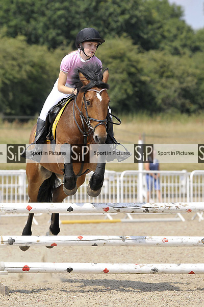 Class 2. British showjumping seniors. Brook Farm Training Centre. Essex. UK. 07/07/2018. ~ MANDATORY Credit Garry Bowden/Sportinpictures - NO UNAUTHORISED USE - 07837 394578