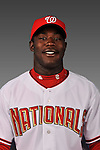 14 March 2008: ..Portrait of Juan Senreiso, Washington Nationals Minor League player at Spring Training Camp 2008..Mandatory Photo Credit: Ed Wolfstein Photo