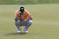 Richie Ramsay (SCO) on the 3rd green during Friday's Round 2 of the 117th U.S. Open Championship 2017 held at Erin Hills, Erin, Wisconsin, USA. 16th June 2017.<br /> Picture: Eoin Clarke | Golffile<br /> <br /> <br /> All photos usage must carry mandatory copyright credit (&copy; Golffile | Eoin Clarke)
