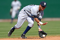 Staten Island Yankees' SS CITO CULVER during a game vs. the Lowell Spinners at LaLacheur Park in Lowell, Massachusetts August 29,  2010.   .  Photo By Ken Babbitt/Four Seam Images