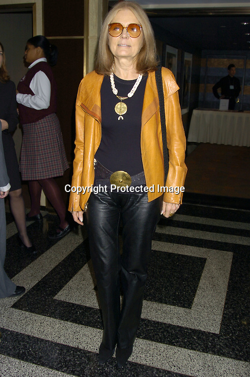 "Gloria Steinem ..at the 18th Annual Citymeals-on-Wheels ""Power Lunch for Women"" on November 18, 2004 at The Rainbow Room. ..Photo by Robin Platzer, Twin Images.."