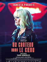 Knife+Heart (2018)<br /> Un couteau dans le coeur (2018)<br /> French poster<br /> *Filmstill - Editorial Use Only* see Special Instructions.<br /> CAP/PLF<br /> Image supplied by Capital Pictures