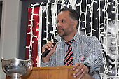 Steelers Coach Darryl Suasua. Counties Manukau Rugby Unions Senior Prize giving held at ECOLight Stadium Pukekohe on Wednesday November 2nd, 2016.<br /> Photo by Richard Spranger.