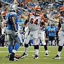 KYLE COOK, of the Cincinnati Bengals in action during the Bengals game against the Detroit Lion on August 12, 2011 at Ford Field in Detroit, Michigan. The Lions beat the Bengals 34-3.