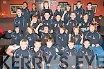 RUBGY TOUR: Member's of the U11's Blackheath Rugby Club who will play against Tralee RFC in O'Dowd Park enjoying meal at Kirby's Brogue Inn on Thursday.
