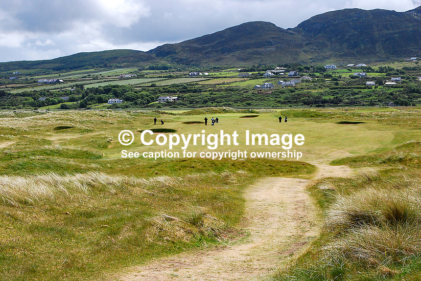 GV, links course, Ballyliffin Golf Club, Co Donegal, Ireland, 200806190253..Copyright Image from Victor Patterson, 54 Dorchester Park, Belfast, UK, BT9 6RJ..Tel: +44 28 9066 1296.Mob: +44 7802 353836.Voicemail +44 20 8816 7153.Skype: victorpattersonbelfast.Email: victorpatterson@mac.com.Email: victorpatterson@ireland.com (back-up)..IMPORTANT: If you wish to use this image or any other of my images please go to www.victorpatterson.com and click on the Terms & Conditions. Then contact me by email or phone with the reference number(s) of the image(s) concerned.