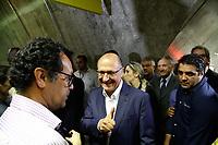 SÃO PAULO, SP, 23.01.2018: METRÔ-HIGIENÓPOLIS-MACKENZIE - O governador Geraldo Alckmin (PSDB), entregou a 72º estação do metrô Higienópolis-Mackenzie da Linha 4 Amarela, nesta terça-feira (23). (Foto: Fábio Vieira/FotoRua)