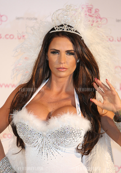 Katie Price attends a photocall to launch her new venture 'KP Rocks' at The Worx, London.  07/11/2012 Picture by: Henry Harris / Featureflash