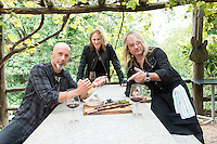 Gotthard, Hard rock band, Leo Leoni, Freddy Scherer, Nic Maeder, Grotthard, Oggio, 2014.09.04