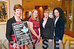 Norma O'Carroll, Deputy Principal, Nessa Donegan, chairperson of the parents Association, Ann Doonan, Manager Carlton Hotel, and Norma O'Donoghue, Norma O'Donoghue, Model Ageny  Launch the Sliabh A'Mhadra N.S Ballyduff Fashion Show Fundraiser at The Carlton Hotel on Friday 7th March 7.30pm