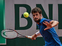 Paris, France, 23 june, 2016, Tennis, Roland Garros, Robin Haase (NED)<br /> Photo: Henk Koster/tennisimages.com