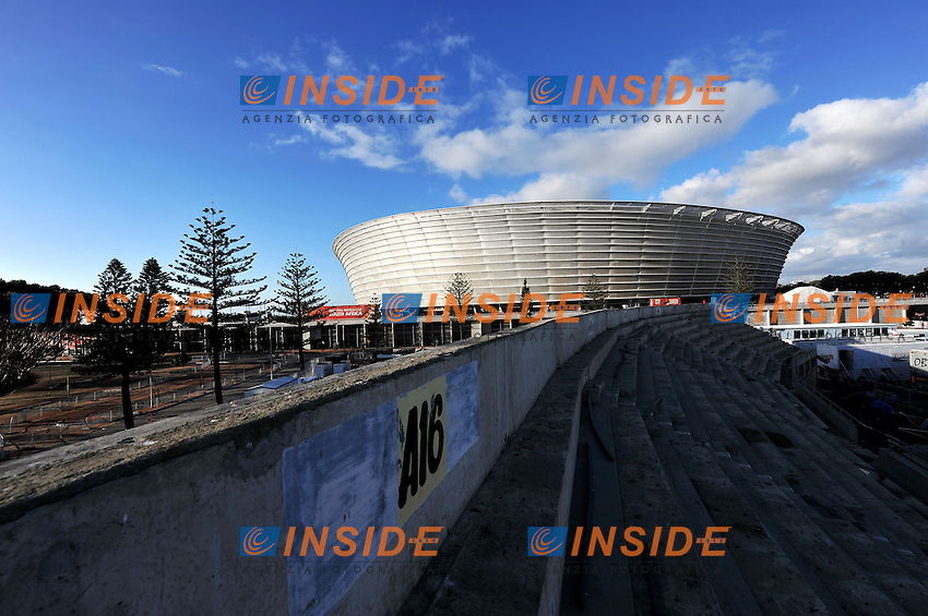 Il Green Point Stadium<br /> Uruguay Olanda 2-3 - Uruguay vs Netherlands 2-3<br /> Semifinale - Semifinal<br /> Campionati del Mondo di Calcio Sudafrica 2010 - World Cup South Africa 2010<br /> Green Point Stadium, Cape Town  06/07/2010<br /> &copy; Giorgio Perottino / Insidefoto