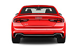 Straight rear view of a 2018 Audi RS5 Base 2 Door Coupe stock images