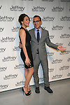 Chrissy Teigen and Steven Combs Attends Jeffrey Fashion Cares 10th Anniversary New York Fundrasier Hosted by Emmy Rossum Held at the Intrepid, NY 4/2/13