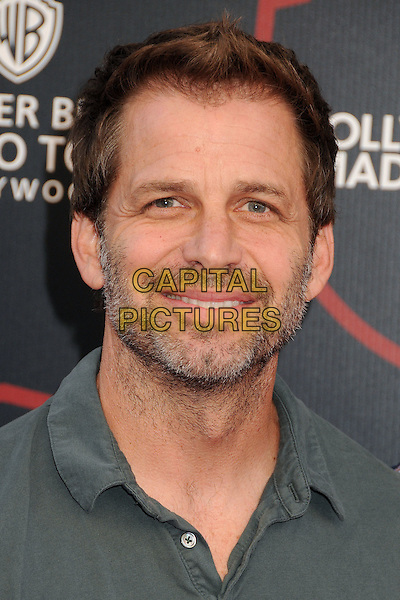 14 July 2015 - Burbank, California - Zack Snyder. Warner Bros. Studio Tour Stage 48: Script to Screen Launch Event held at Warner Bros. Studios. <br /> CAP/ADM/BP<br /> &copy;BP/ADM/Capital Pictures