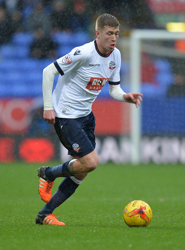 Bolton Wanderers' Josh Vela<br /> <br /> Photographer Dave Howarth/CameraSport<br /> <br /> Football - The Football League Sky Bet Championship - Bolton Wanderers v Rotherham United - Saturday 6th February 2016 - Macron Stadium - Bolton <br /> <br /> &copy; CameraSport - 43 Linden Ave. Countesthorpe. Leicester. England. LE8 5PG - Tel: +44 (0) 116 277 4147 - admin@camerasport.com - www.camerasport.com