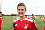 10 January 2016: Eric Verso (Stanford). The adidas 2016 MLS Player Combine was held on the cricket oval at Central Broward Regional Park in Lauderhill, Florida.
