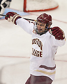 Peter McMullen (BC - 20) - The Boston College Eagles defeated the visiting St. Francis Xavier University X-Men 8-2 in an exhibition game on Sunday, October 6, 2013, at Kelley Rink in Conte Forum in Chestnut Hill, Massachusetts.