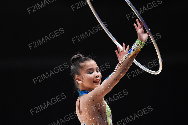 British Gymnastics National Championships 2015 Liverpool.  Rhythmic Gymnastics.