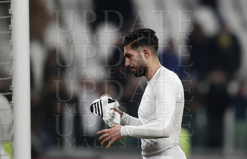 Calcio, Serie A: Juventus - Chievo Verona, Turin, Allianz Stadium, January 21, 2019.<br /> Juventus' Emre Can celebrates after winning 3-0 the Italian Serie A football match between Juventus and Chievo Verona at Torino's Allianz stadium, January 21, 2019.<br /> UPDATE IMAGES PRESS/Isabella Bonotto