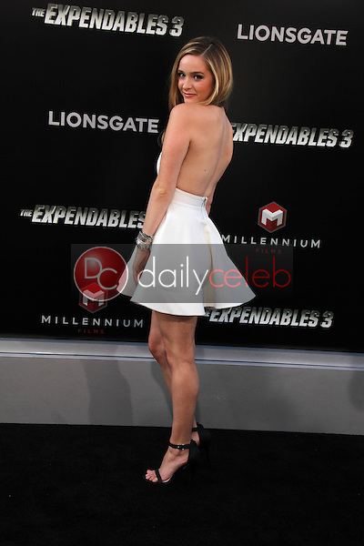 Greer Grammer<br /> at &quot;The Expendables 3&quot; Los Angeles Premiere, TCL Chinese Theater, Hollywood, CA 08-11-14<br /> David Edwards/Dailyceleb.com 818-249-4998