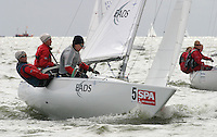 20th SPA Regatta - Medemblik.26-30 May 2004..Copyright free image for editorial use. Please credit Peter Bentley..Kristin Wagner - GER