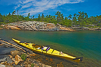 kayak on Georgian Bay north of Windsor Island<br />