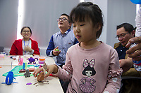 Family Day at Air Liquide Electronics Materials Center China (EMCC) Factory in Zhangjiagang, China, on 20 October 2017. Photo by Lucas Schifres/Studio EAST