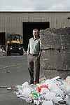 Bellingham Public Works Director Ted Carlson, photographed at Northwest Recycling in Bellingham, Wash. Bellingham is one of only a handful of cities in Washington state without single-stream recycling, so residents must sort their recyclable items into three separate bins. Photo by Daniel Berman