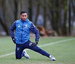 21.02.2019: Rangers training: Alfredo Morelos