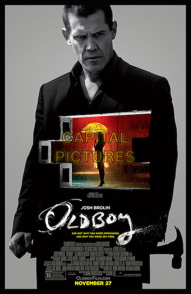 POSTER ART<br /> in Oldboy (2013)<br /> *Filmstill - Editorial Use Only*<br /> CAP/FB<br /> Image supplied by Capital Pictures