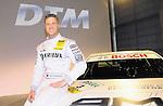 DTM Duesseldorf 2009<br /> Vorstellung und Eroeffnung<br /> <br /> Ralf Schumacher waehrend der Vorstellung in Duesseldorf.<br /> am Rennauto.<br /> <br /> Foto © nph (nordphoto)