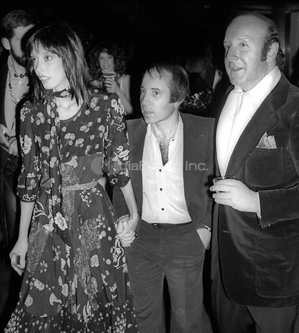 1978 <br /> New York City<br /> Shelley Duvall Paul Simon Clive Davis at Studio 54<br /> Credit: Adam Scull-PHOTOlink/MediaPunch