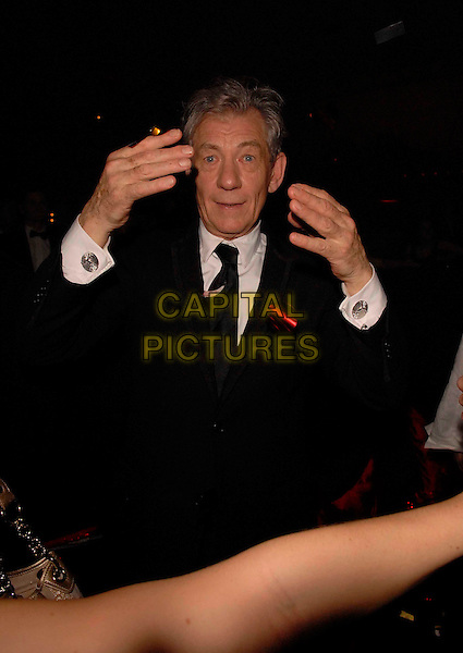 "Sir IAN McKELLEN..""The Da Vinci Code"" party..Cannes Film Festival, France..17 May 2006..Ref: FIN..www.capitalpictures.com..sales@capitalpictures.com..©Steve Finn/Capital Pictures"