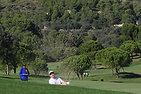 Ross McGowan (ENG) on the 13th during Round 3 of the Challenge Tour Grand Final 2019 at Club de Golf Alcanada, Port d'Alcúdia, Mallorca, Spain on Saturday 9th November 2019.<br /> Picture:  Thos Caffrey / Golffile<br /> <br /> All photo usage must carry mandatory copyright credit (© Golffile | Thos Caffrey)