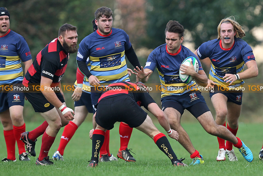 Old Cooperians RFC vs Campion RFC - London 2 North East Rugby at Coopers Company & Coborn School, Upminster - 20/09/14 - MANDATORY CREDIT: Gavin Ellis/TGSPHOTO - Self billing applies where appropriate - contact@tgsphoto.co.uk - NO UNPAID USE