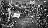 Sven Nys (BEL) descending the Balenberg<br /> <br /> GP Sven Nys 2014