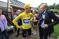 WIELRENNEN: SURHUISTERVEEN: 26-07-2016, Profronde 2016, Winnaar Chris Froome, ©foto Martin de Jong
