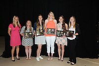 Stevenson's annual Sports Award Banquet was held in Owings Mills gymnasium on Sunday afternoon honoring student athletes accomplishments both on the field and off.