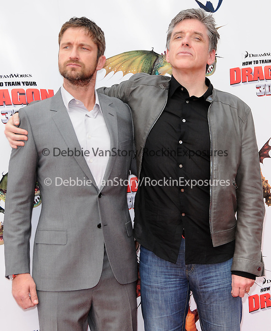 Gerard Butler & Craig Ferguson at the Dreamwork Pictures' Premiere How to Train Your Dragon held at Gibson Universal in Universal City, California on March 21,2010                                                                   Copyright 2010  DVS / RockinExposures