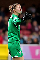 Liverpool goalkeeper, Siobhan Chamberlain during Chelsea Ladies vs Liverpool Ladies, FA Women's Super League FA WSL1 Football at Kingsmeadow on 7th October 2017