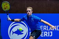 Alphen aan den Rijn, Netherlands, December 15, 2018, Tennispark Nieuwe Sloot, Ned. Loterij NK Tennis, Semifinal men: Jelle Sels (NED)<br /> Photo: Tennisimages/Henk Koster
