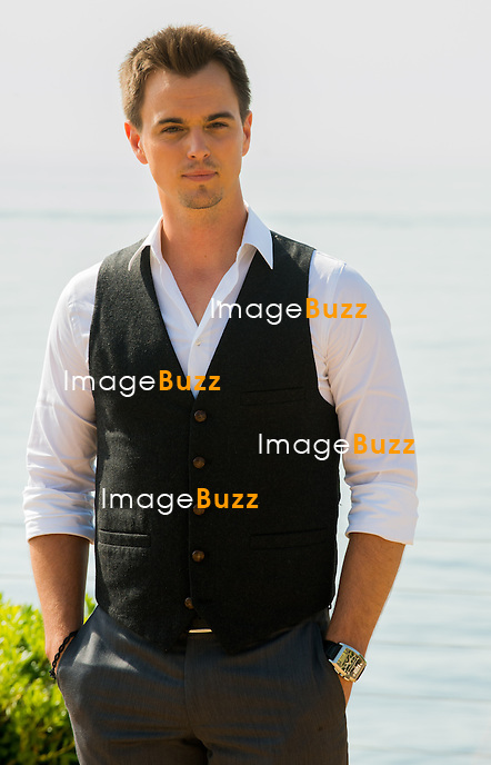 US actor Darin Brooks poses during a photocall for the TV show 'The Bold and the Beautiful' as part of the 54th Monte-Carlo Television Festival on June 8, 2014 in Monaco.