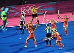 Olympic Games 2012; Women Hockey-Final. Netherlands vs. Argentina
